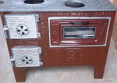 Готварска печка Яксан с 1 фурна