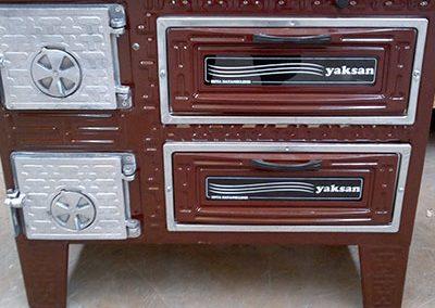 Готварска печка Яксан с 2 фурни