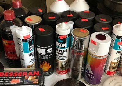 Огнеупорни бои и силикони