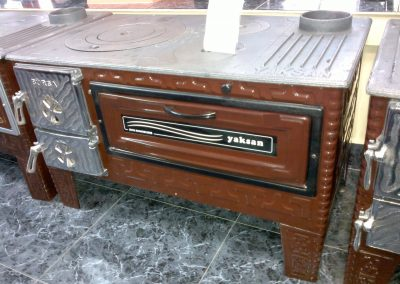 Готварска печка Яксан със стъкло